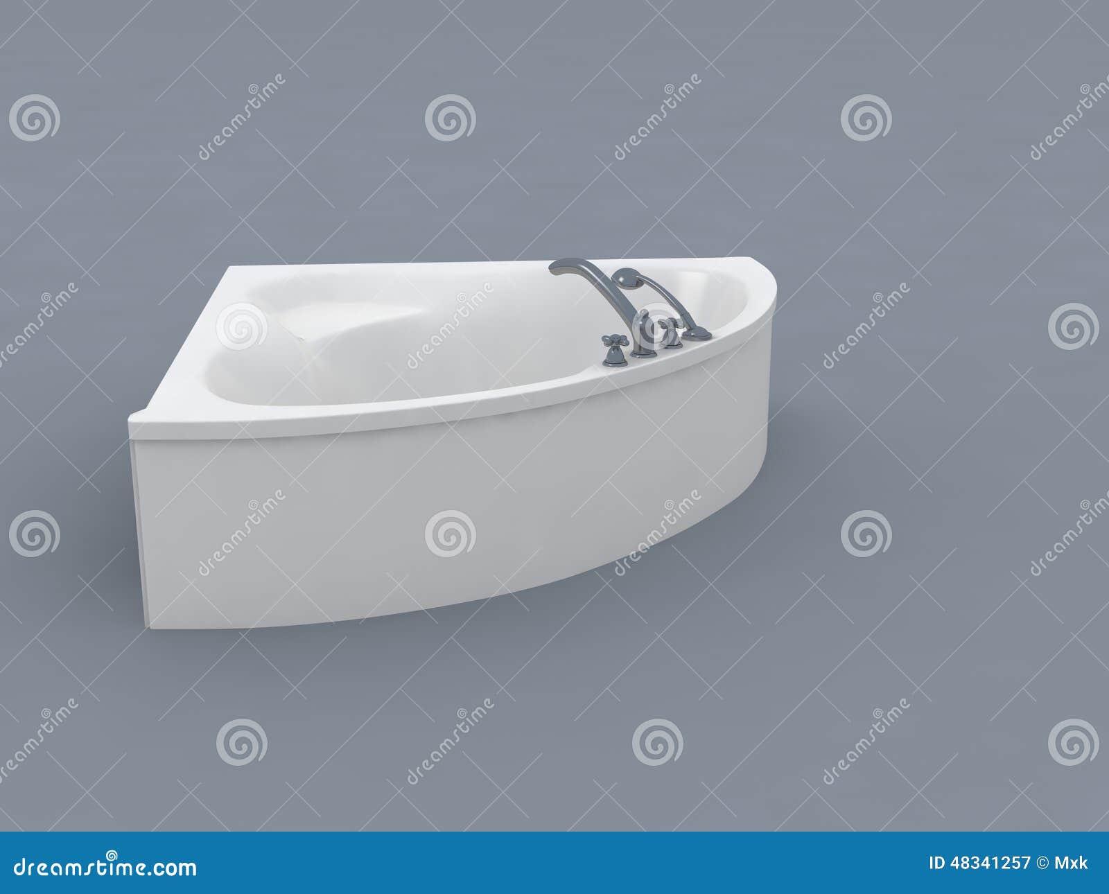 Biały wanna