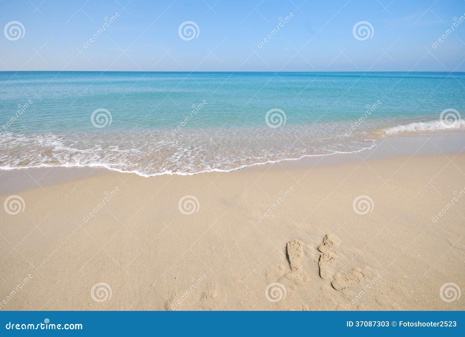 Download Biały Niebieskie Niebo W Thailand I Piasek Obraz Stock - Obraz złożonej z kwiat, świeży: 37087303