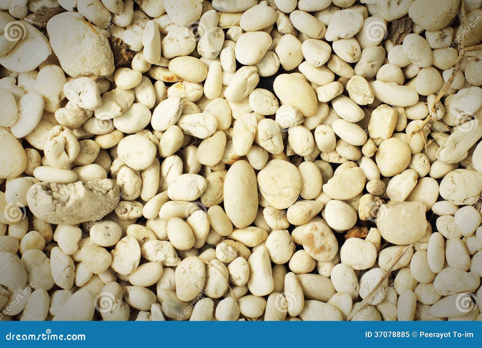 Download Biali gravels. obraz stock. Obraz złożonej z kamień, tło - 37078885