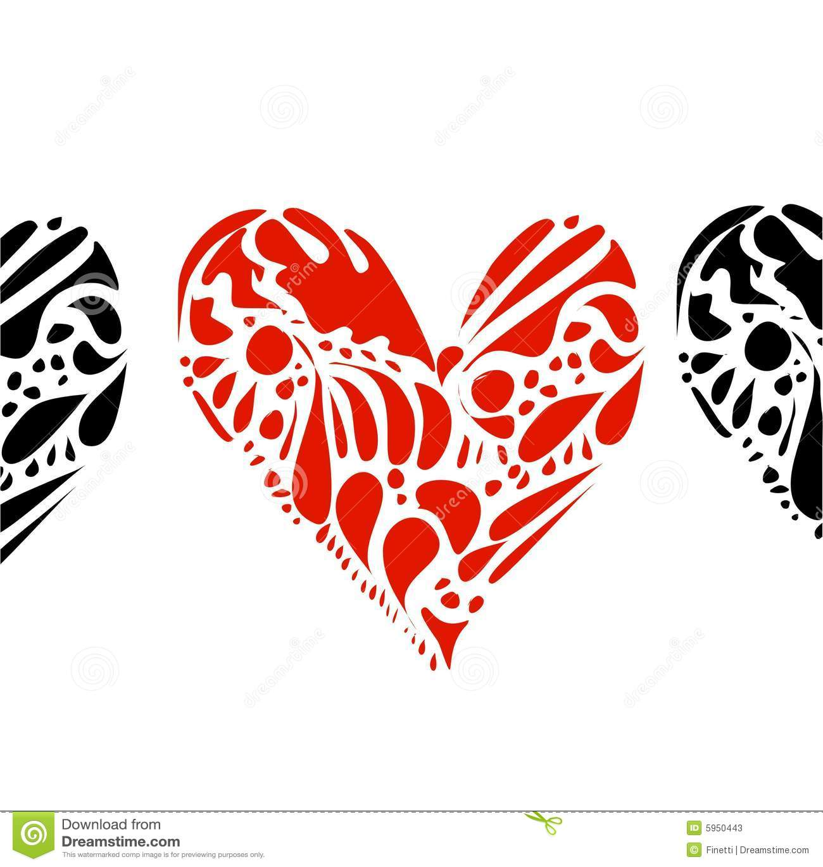 Biali serca