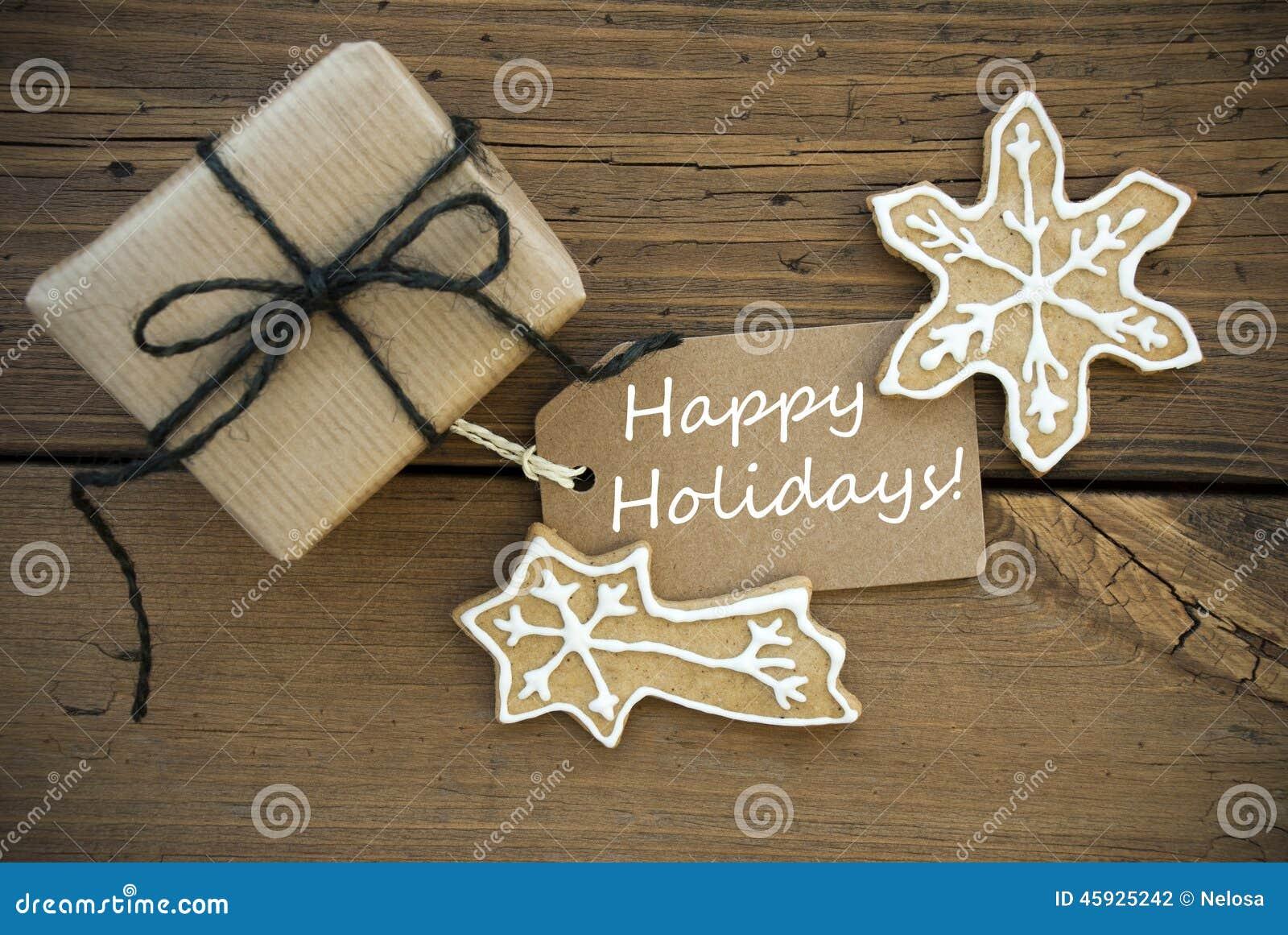 Biali Szczęśliwi wakacje na sztandarze z Bożenarodzeniową dekoracją
