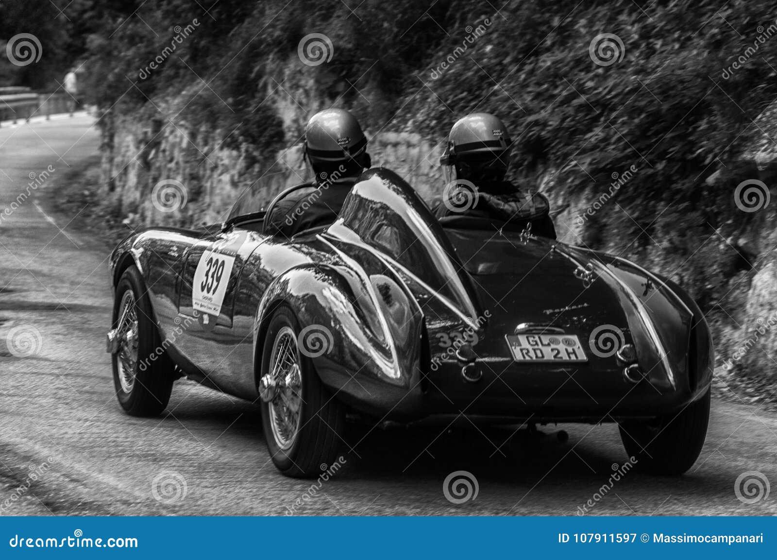 BIANCHI PANHARD ITALFRANCE 750 S COLLI 1954 On An Old Racing Car In ...