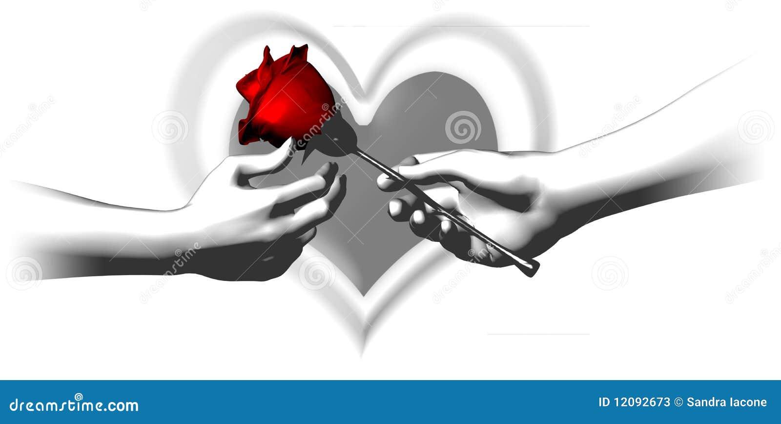 In bianco e nero con colore rosso illustrazione di stock for Arredamento bianco nero e rosso
