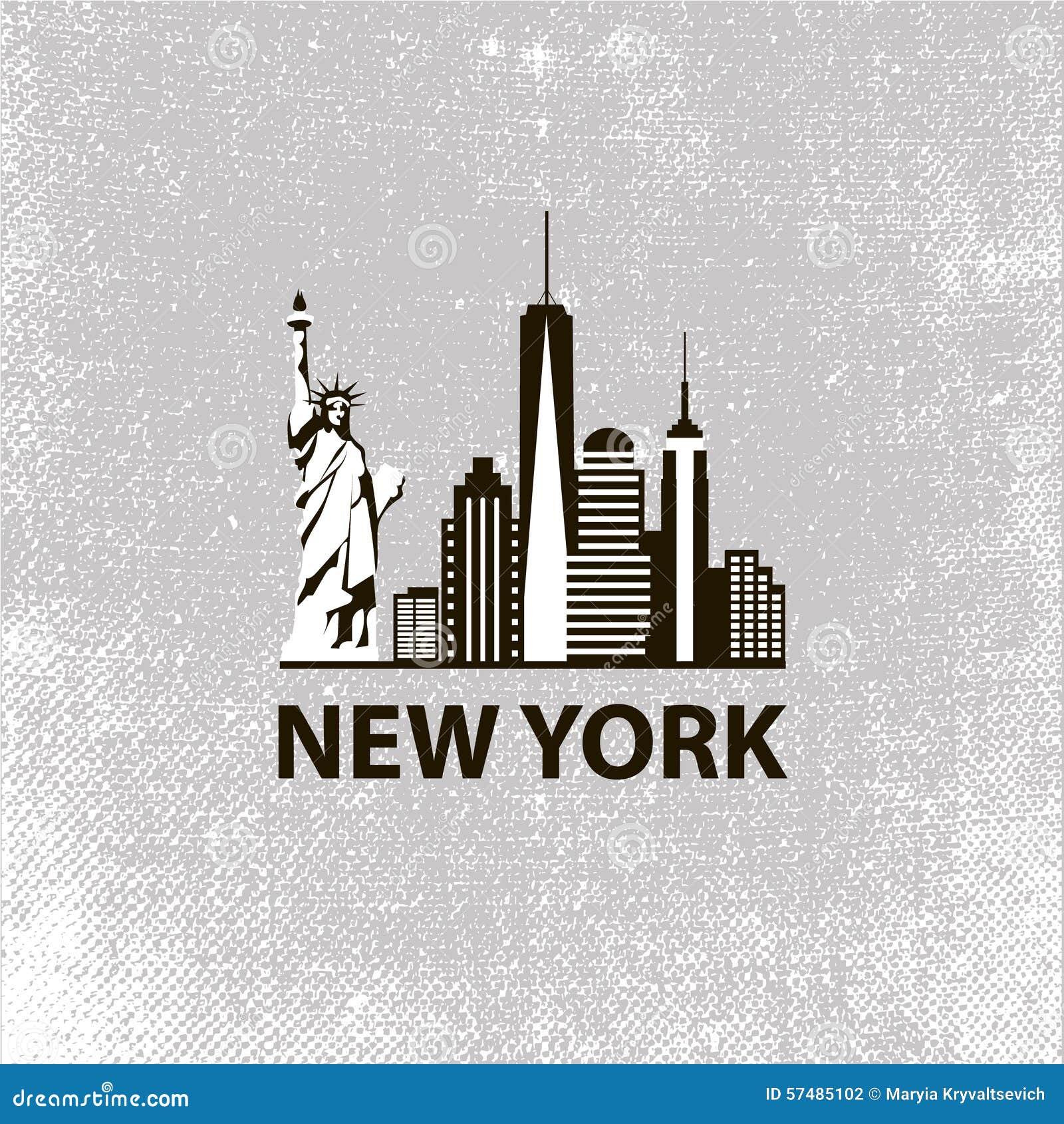 In bianco e nero di architettura di new york city retro for New york architettura