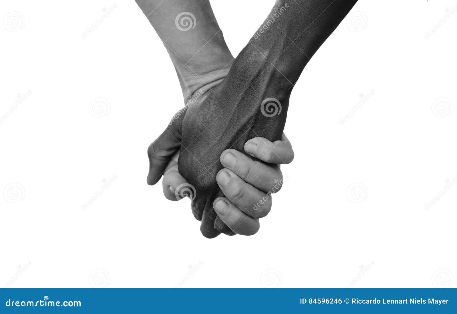 Pace Bianco E Nero in bianco e nero tenga per mano per amore di pace del
