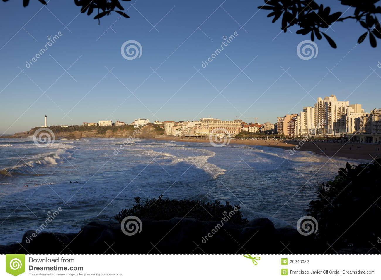 Download Biarritz, Pirenees Atlantiques Foto de Stock - Imagem de france, oceano: 29243052