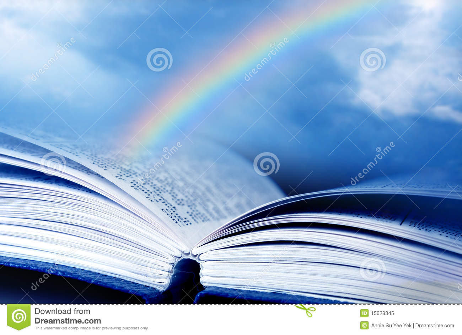 Bibbia con il Rainbow