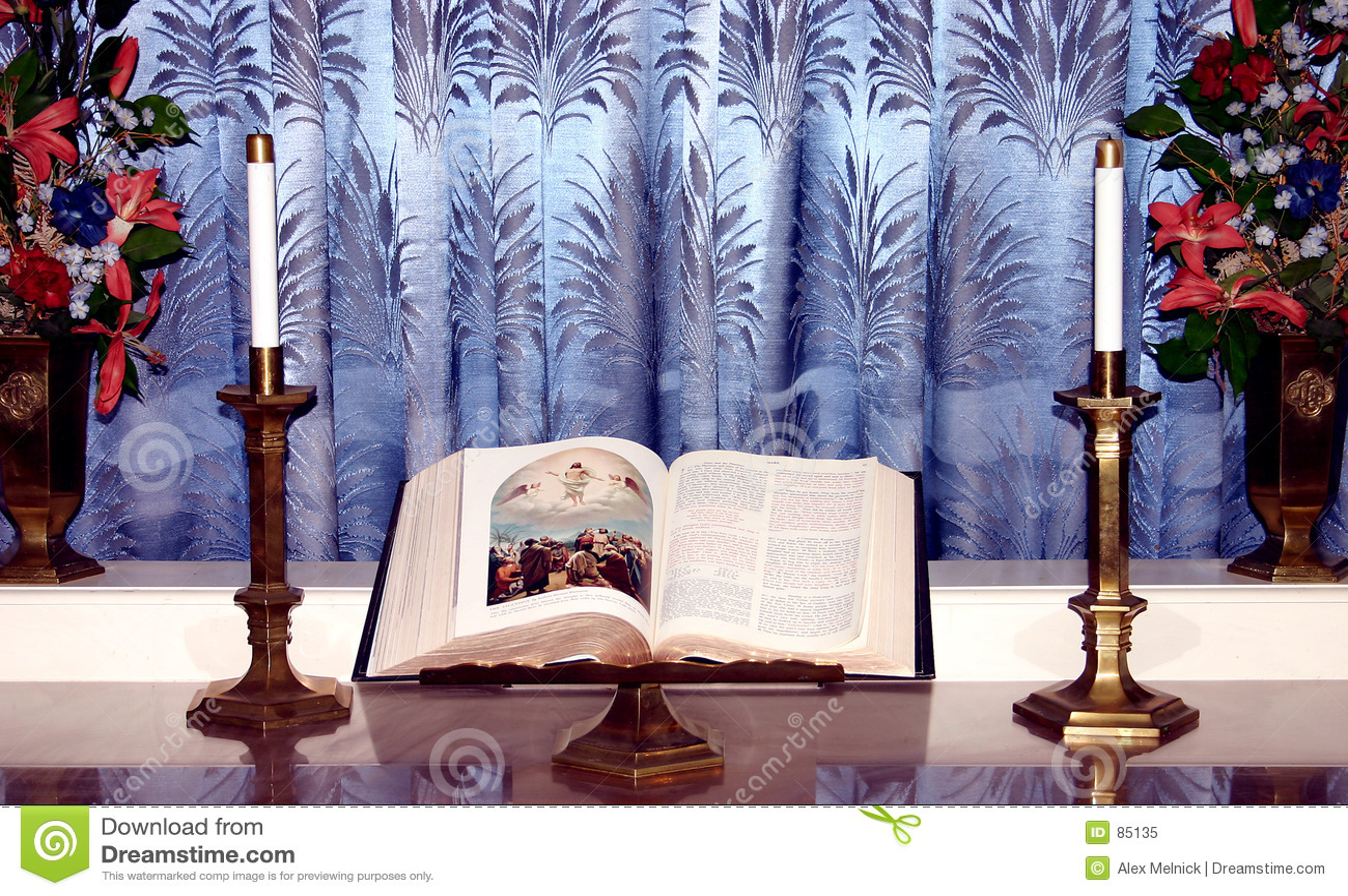Bibel auf Standplatz