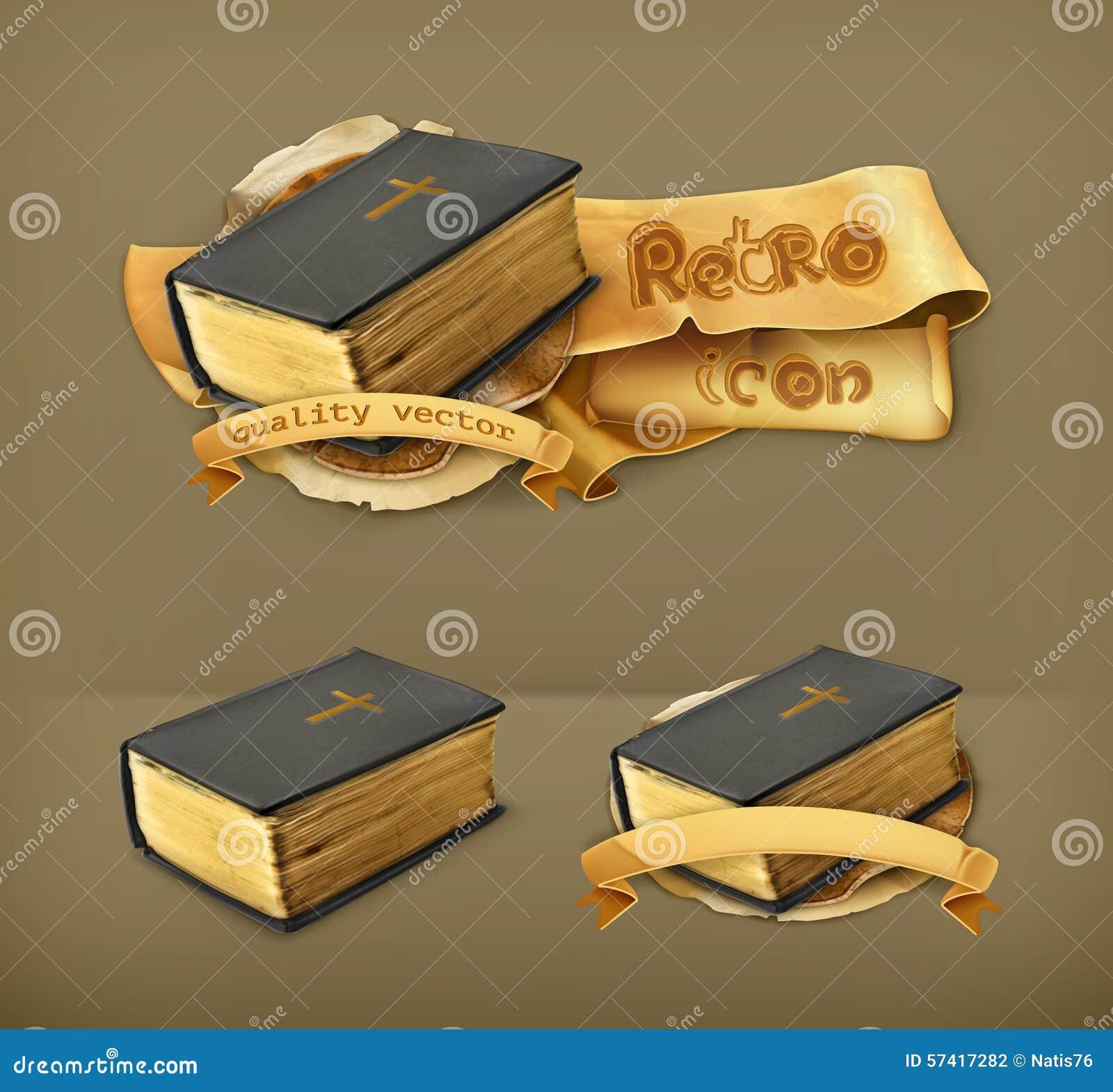 Bibel vektorsymboler