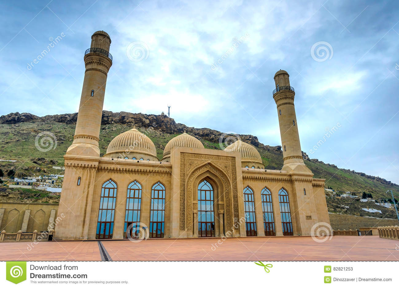 Bibi Heybat moské, Baku