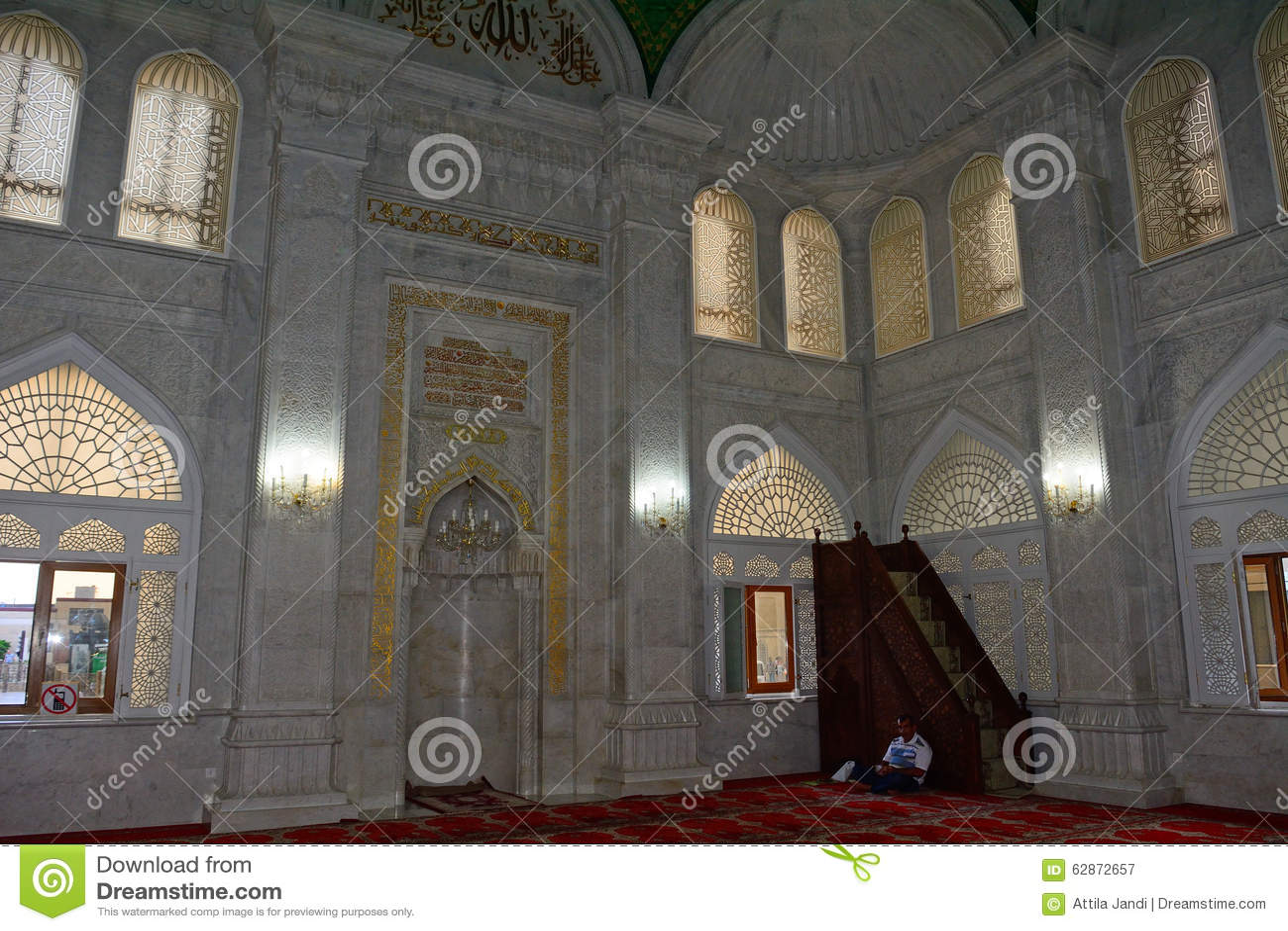Bibi Heybat Mosque, Bacu, Azerbaigian