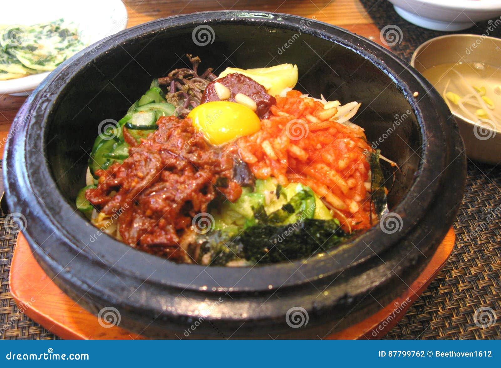 Bibimbapris i koreansk kokkonst