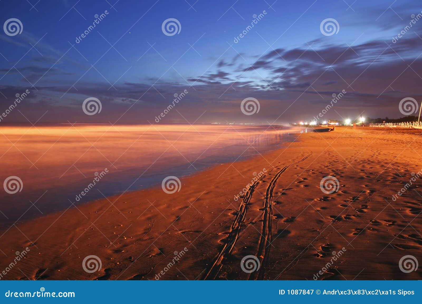 Bibione na plaży