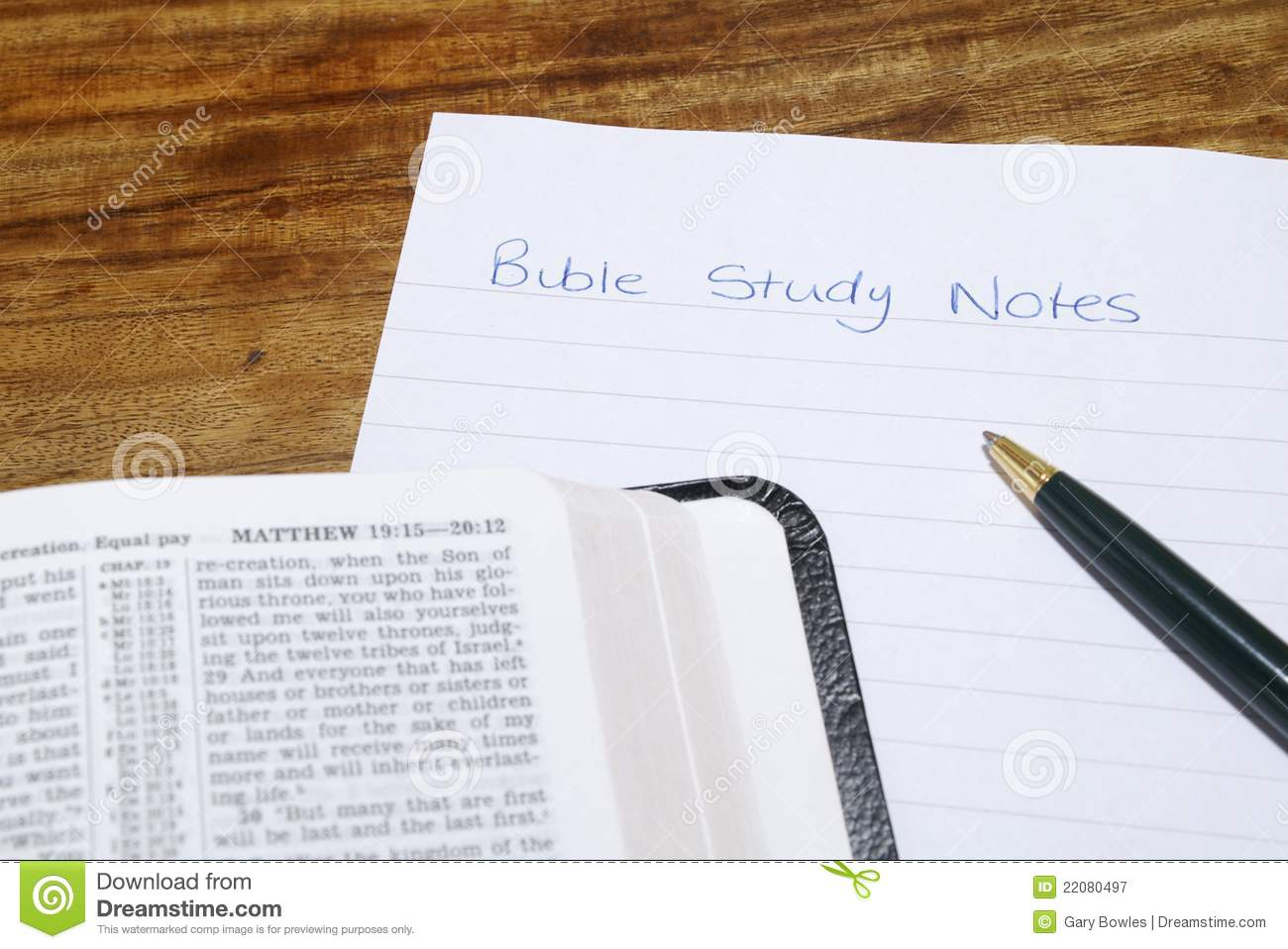 Bible Study Notes for Mobile - Free download and software ...