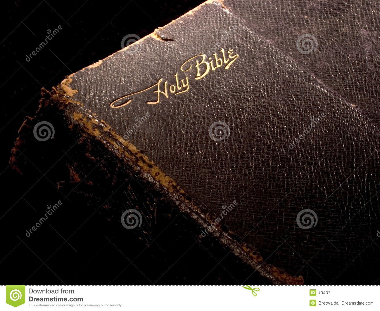 Bible on Black 1