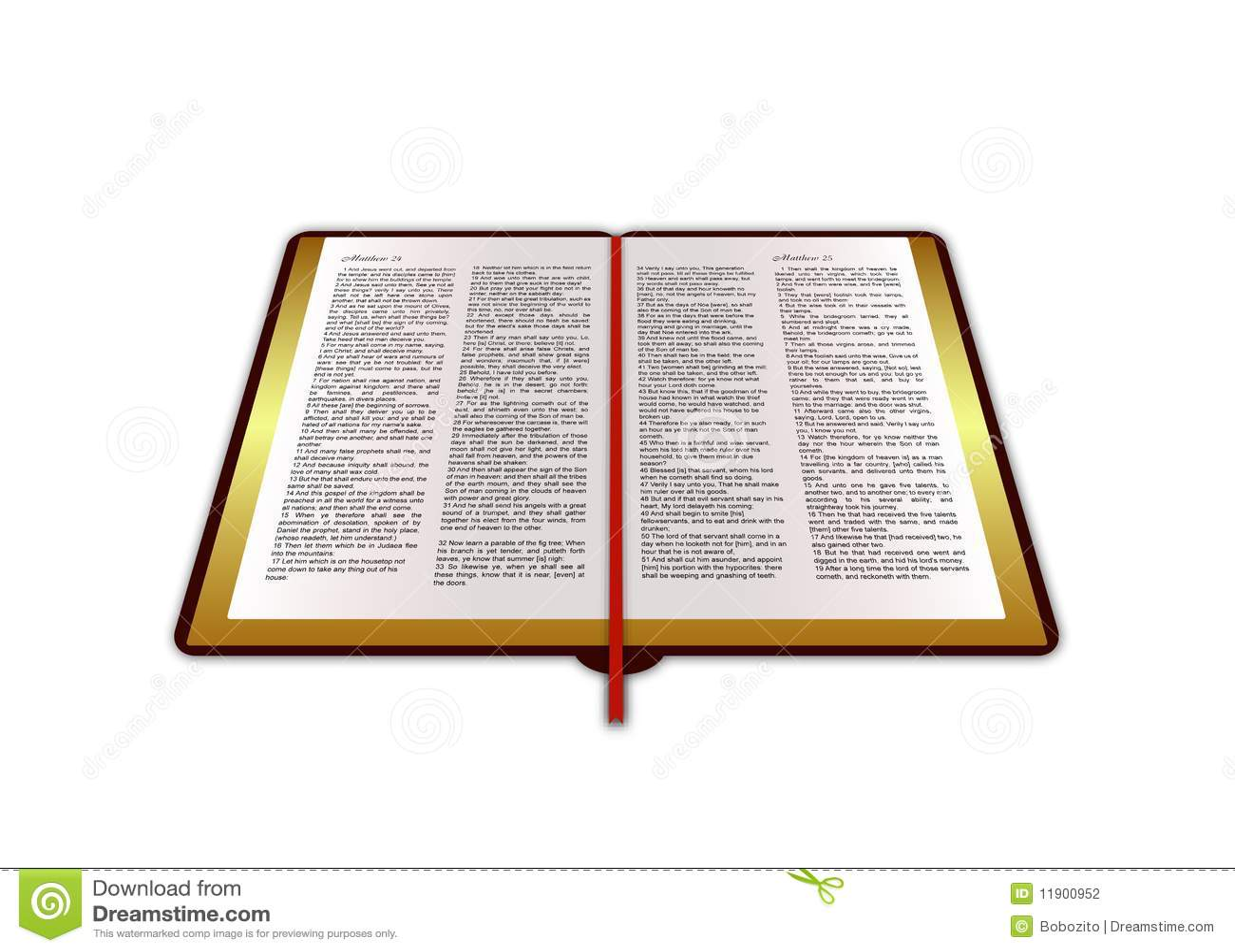 Bible Book Stock Photography Image 11900952