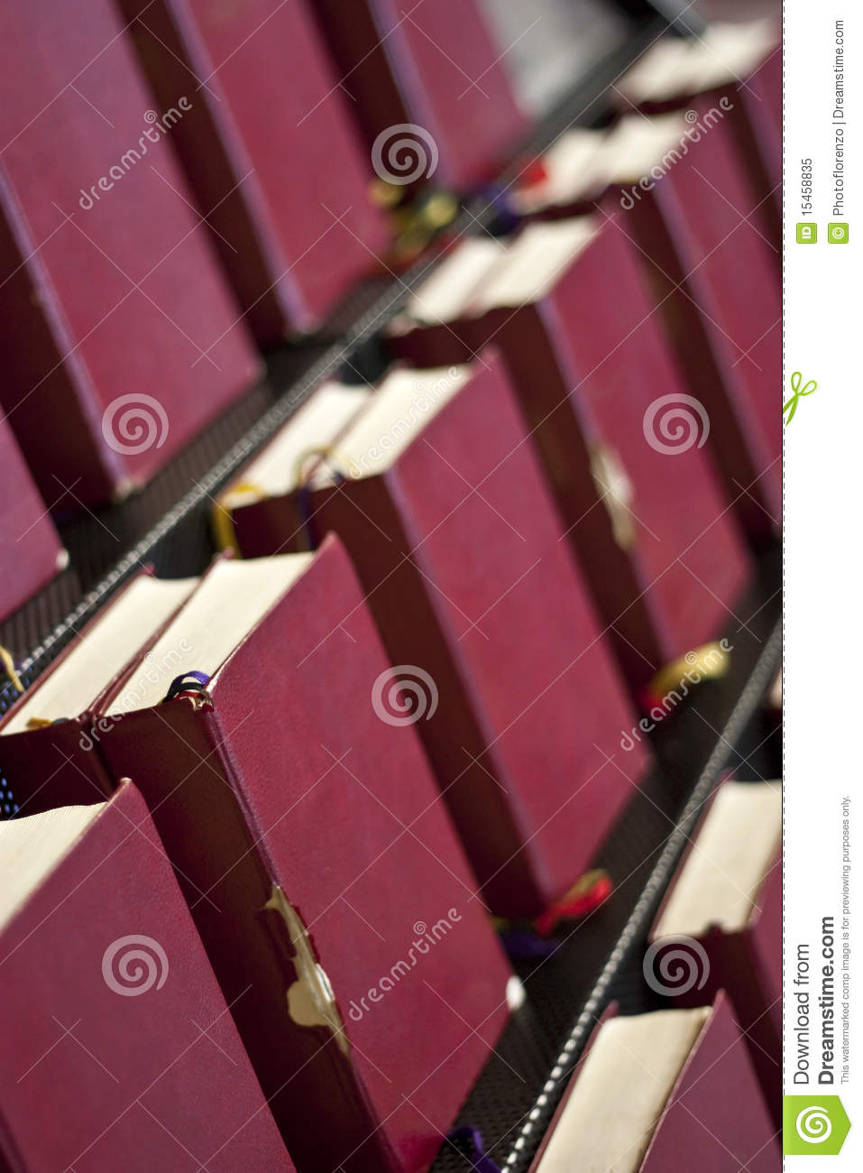 bible book stand in church royalty free stock photo image 15458835