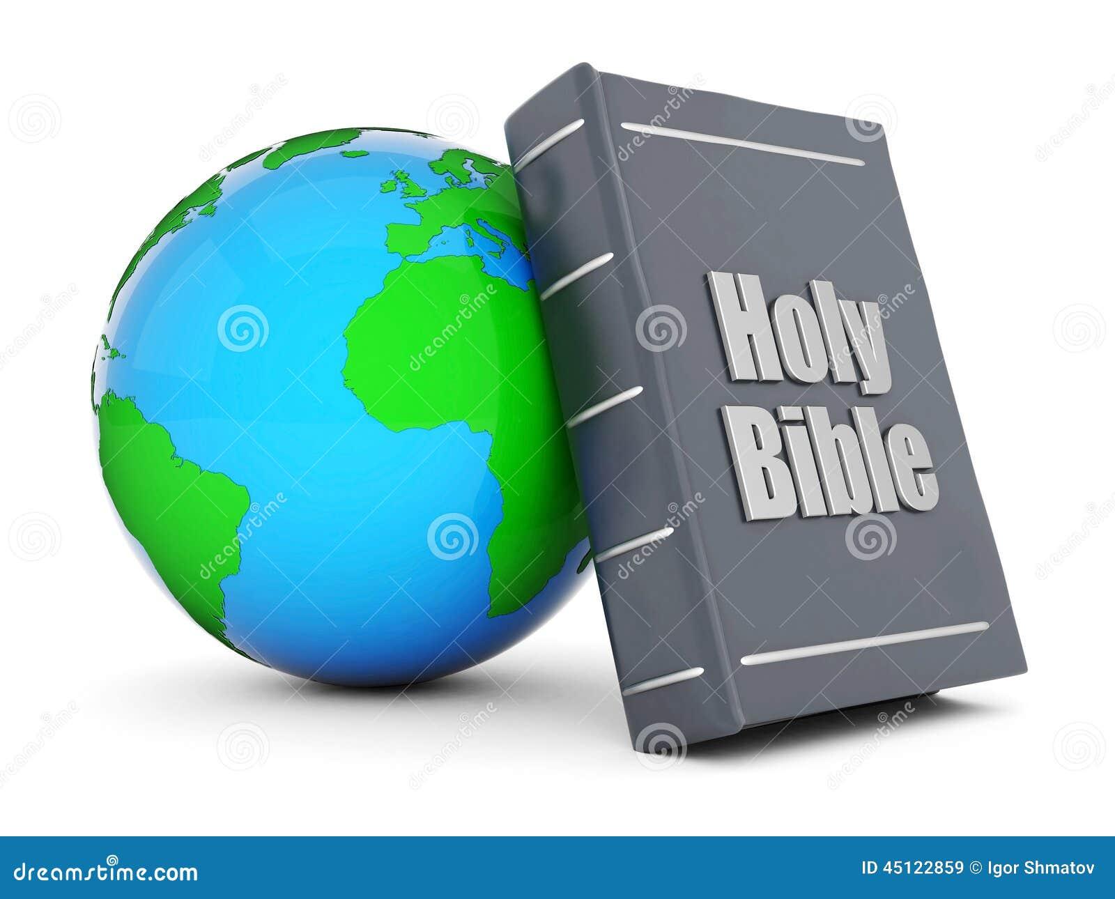 Bible et globe