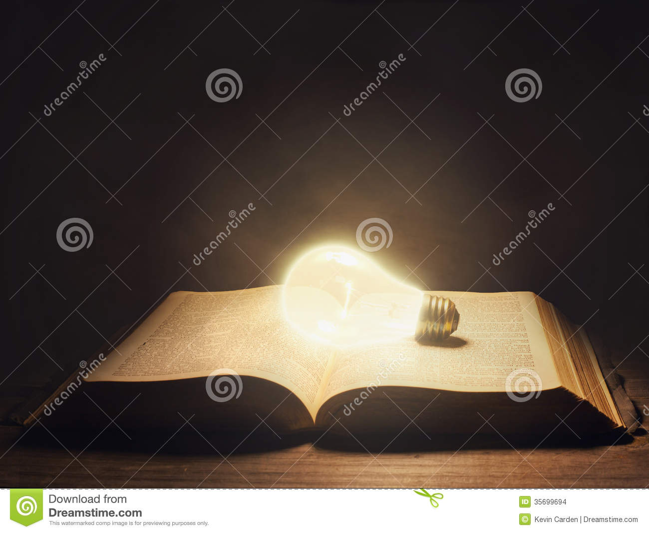 lamp and bible - photo #45