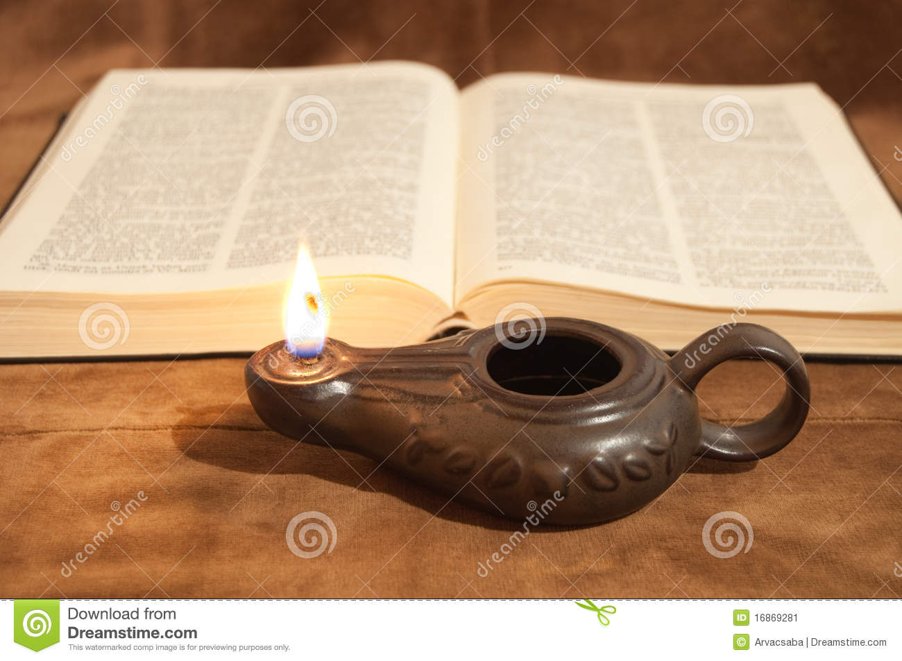 lamp and bible - photo #15