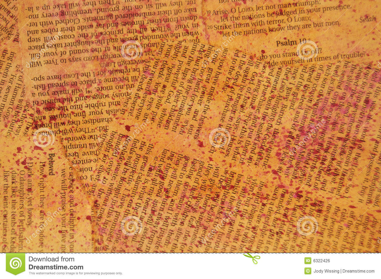 Bible Pages Royalty Free Stock Image - Image: 6322426