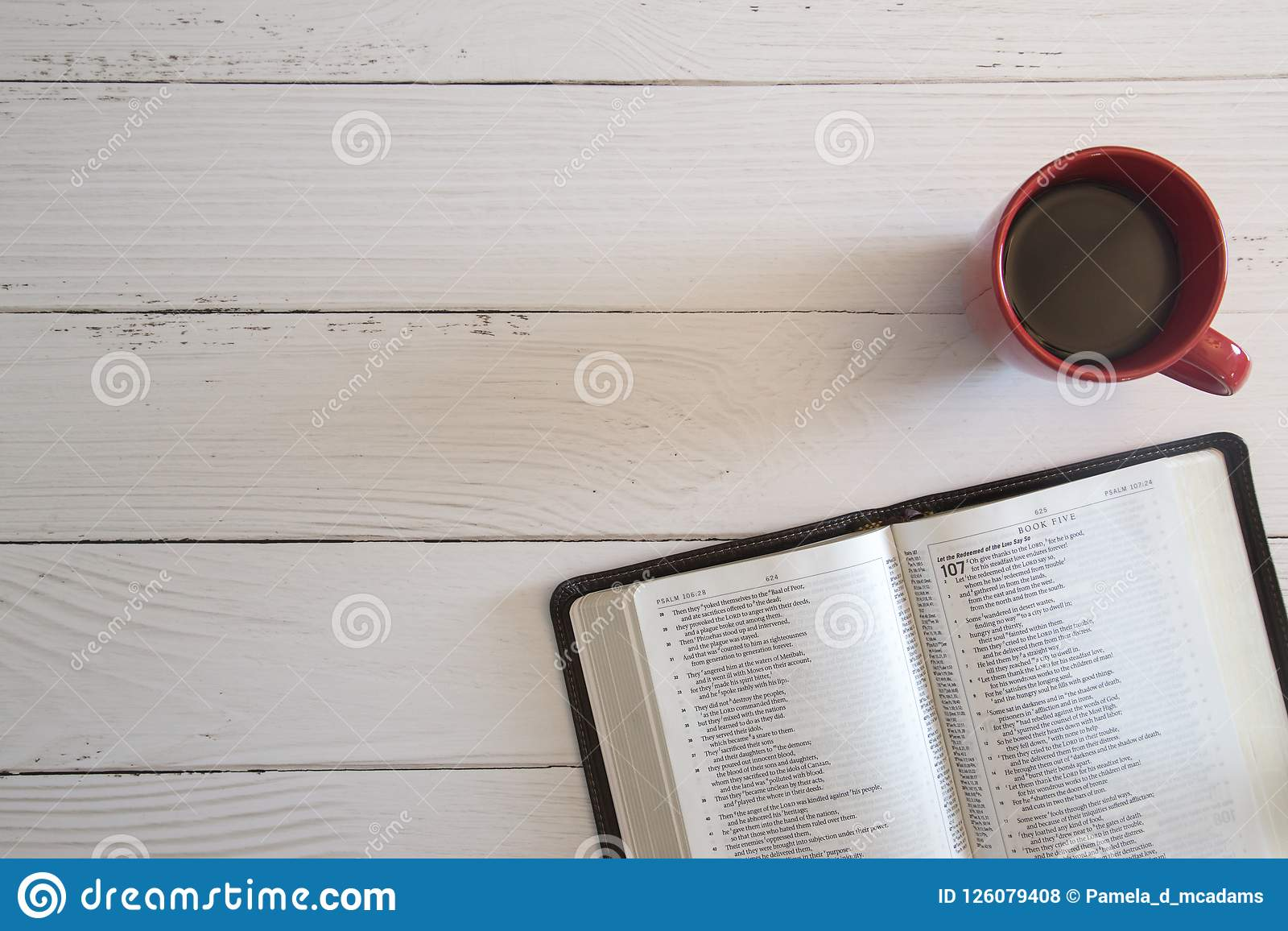 Bible Study Background Stock Photo Image Of Study Bright 126079408