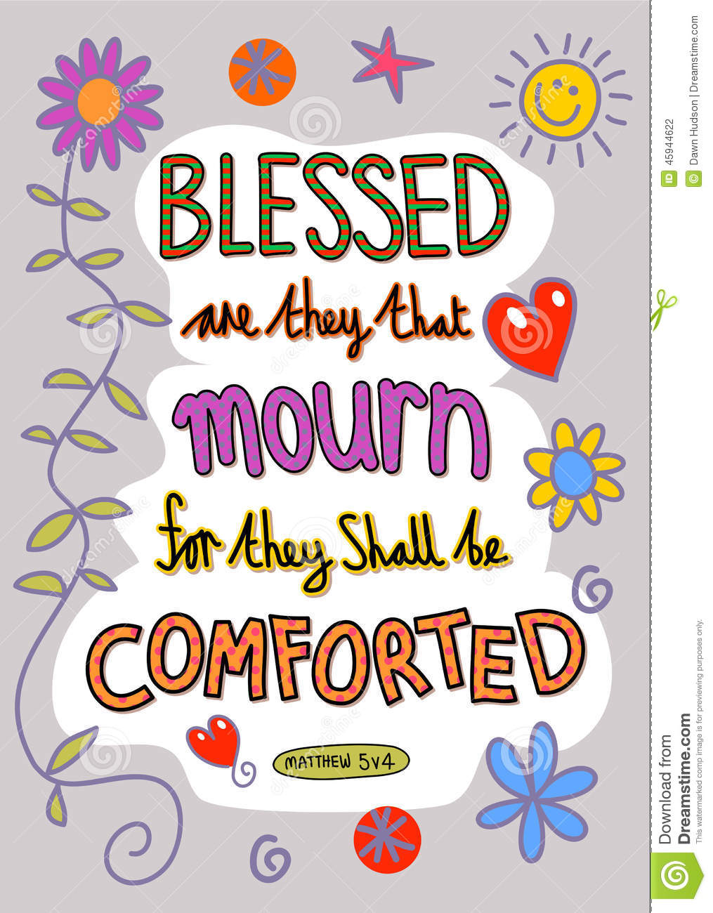 bible verse art stock illustration image 45944622