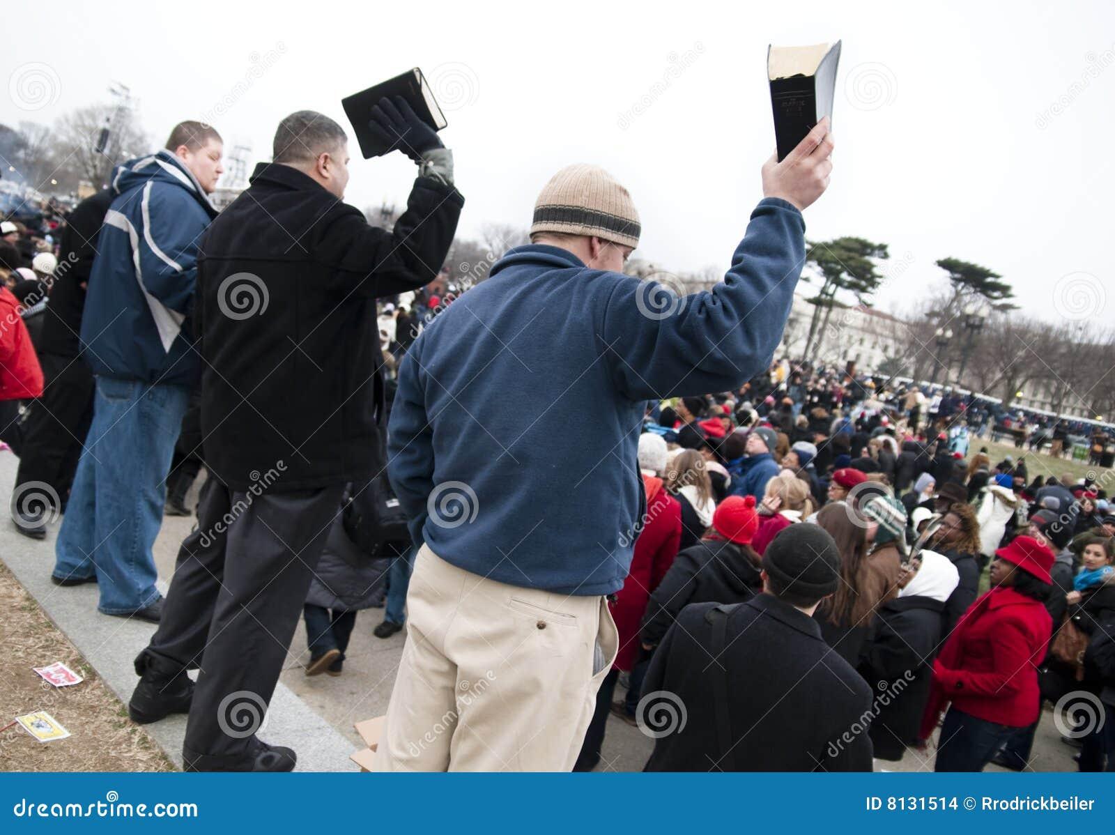 Bible-waving evangelists
