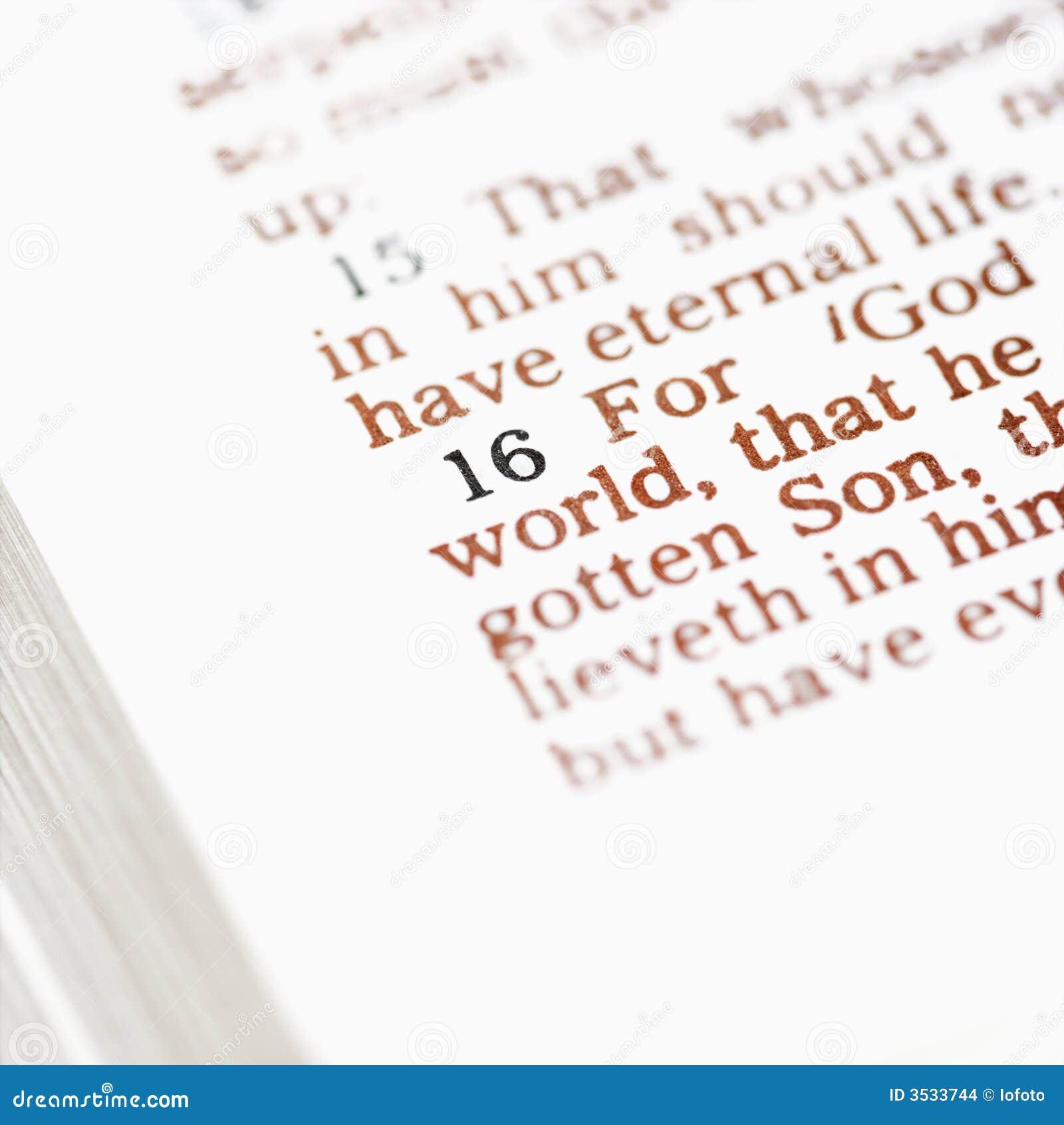 Biblia cristiana.