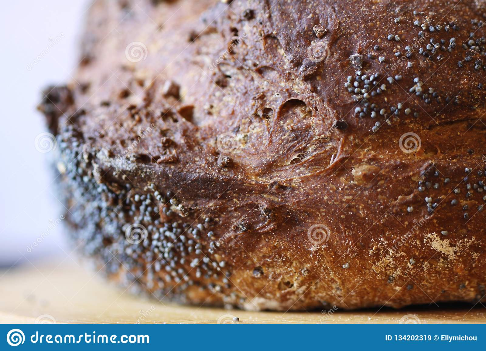 Biblical bread closeup stock image  Image of barley - 134202319