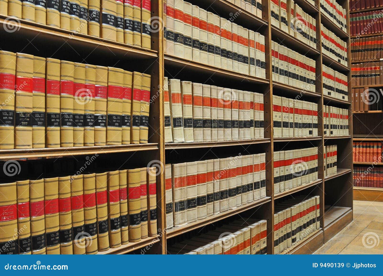 Biblioteca de ley - libros de ley viejos