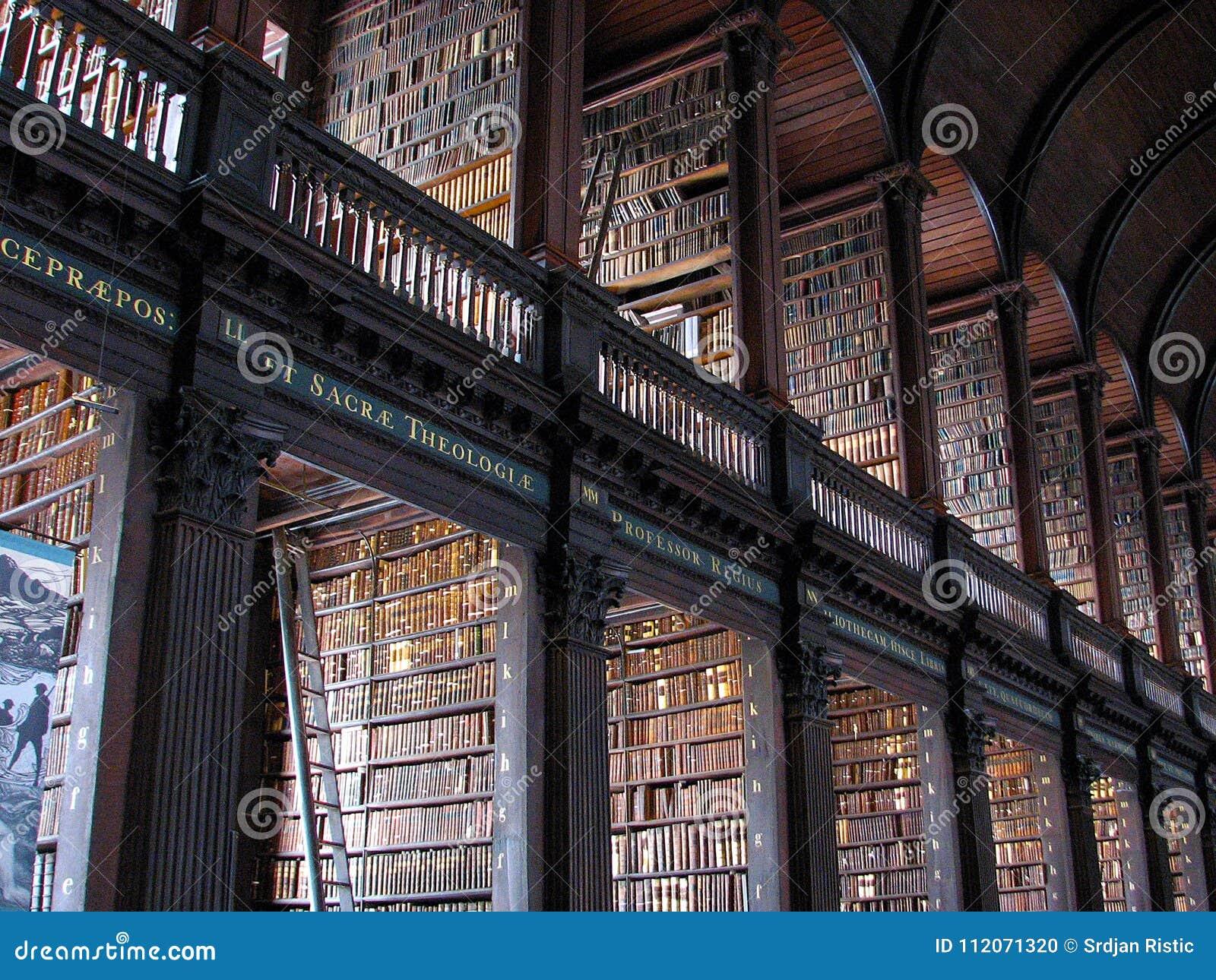 Biblioteca de universidad de la trinidad