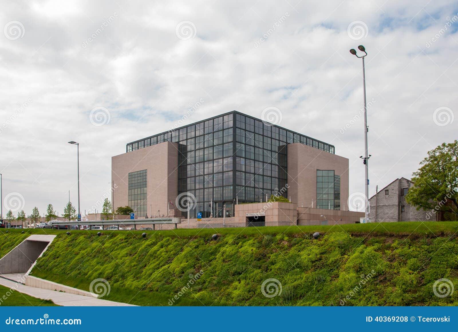 Biblioteca del nacional y de universidad en Zagreb
