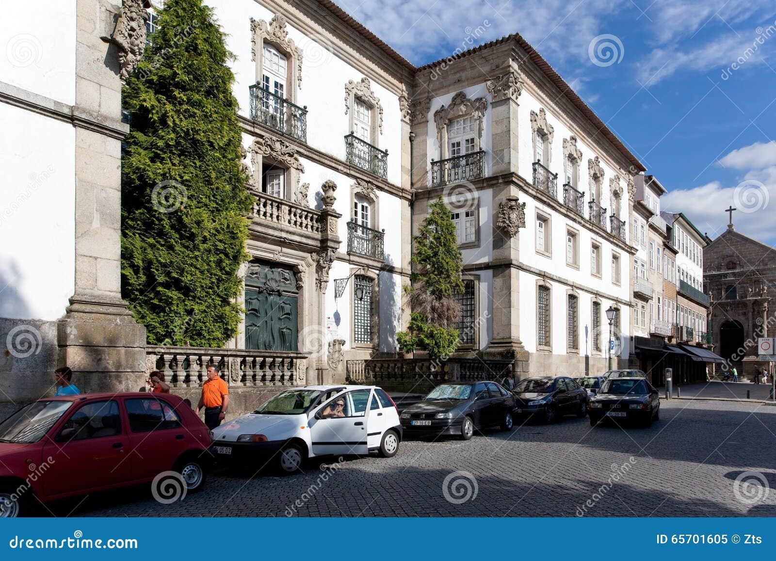 Biblioteca municipale della città di braga portogallo immagine