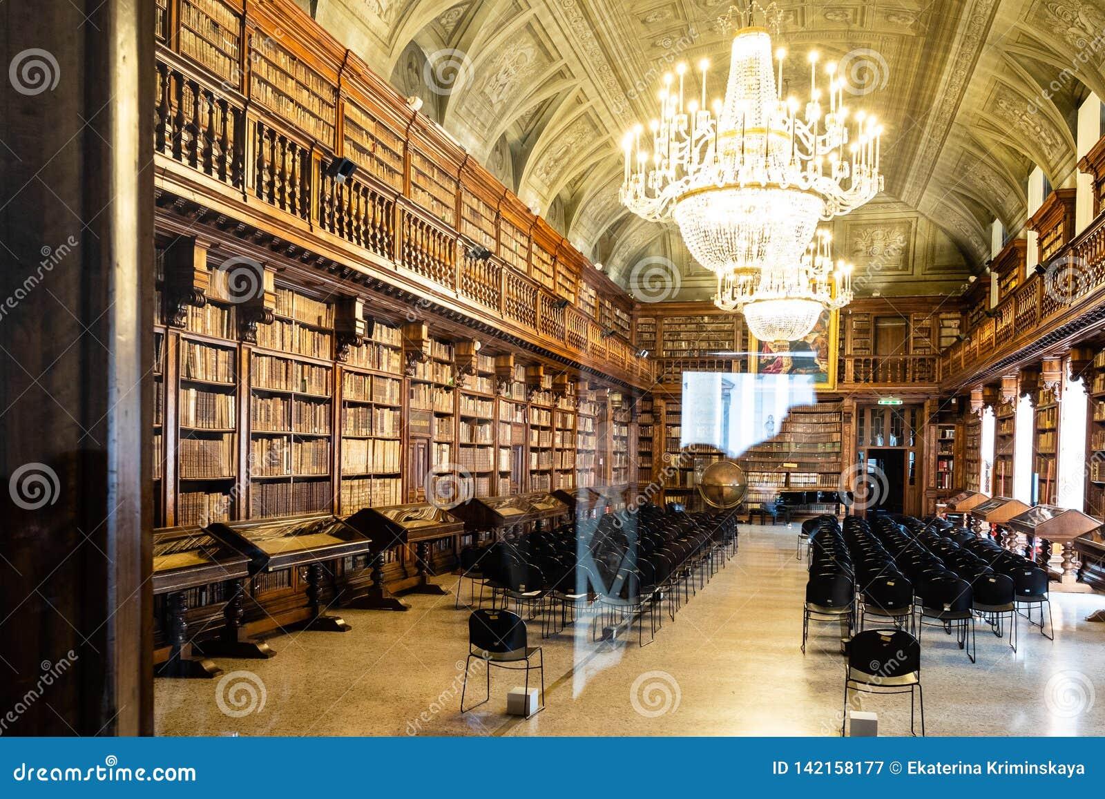 Biblioteca Nazionale Braidense在Brera宫殿