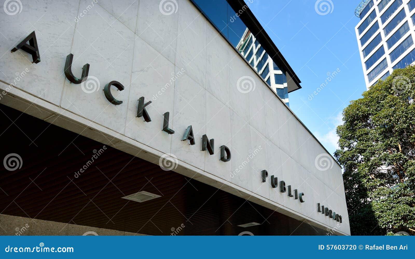 Biblioteca pública de Auckland - Nueva Zelanda