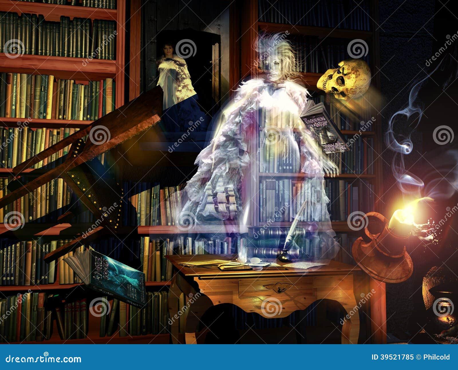 Biblioteczny duch