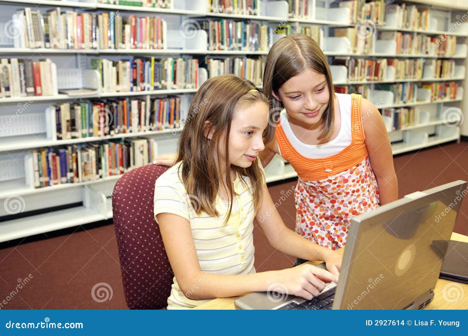 Bibliothèque d école - en ligne