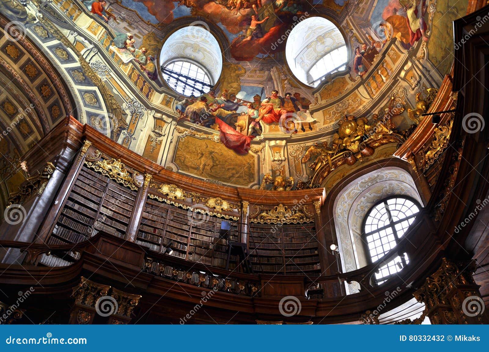 Bibliothèque du baroque de Vienne