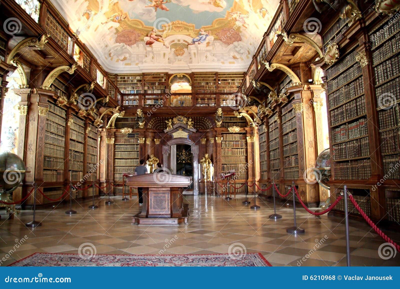 Bibliothek im Kloster Melk