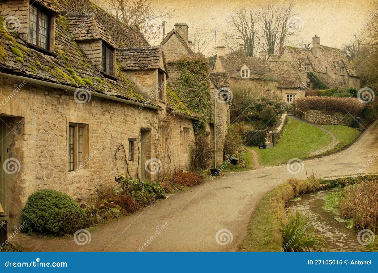 Bibury immagine stock libera da diritti immagine 27105016 for Nuovo stile cottage in inghilterra