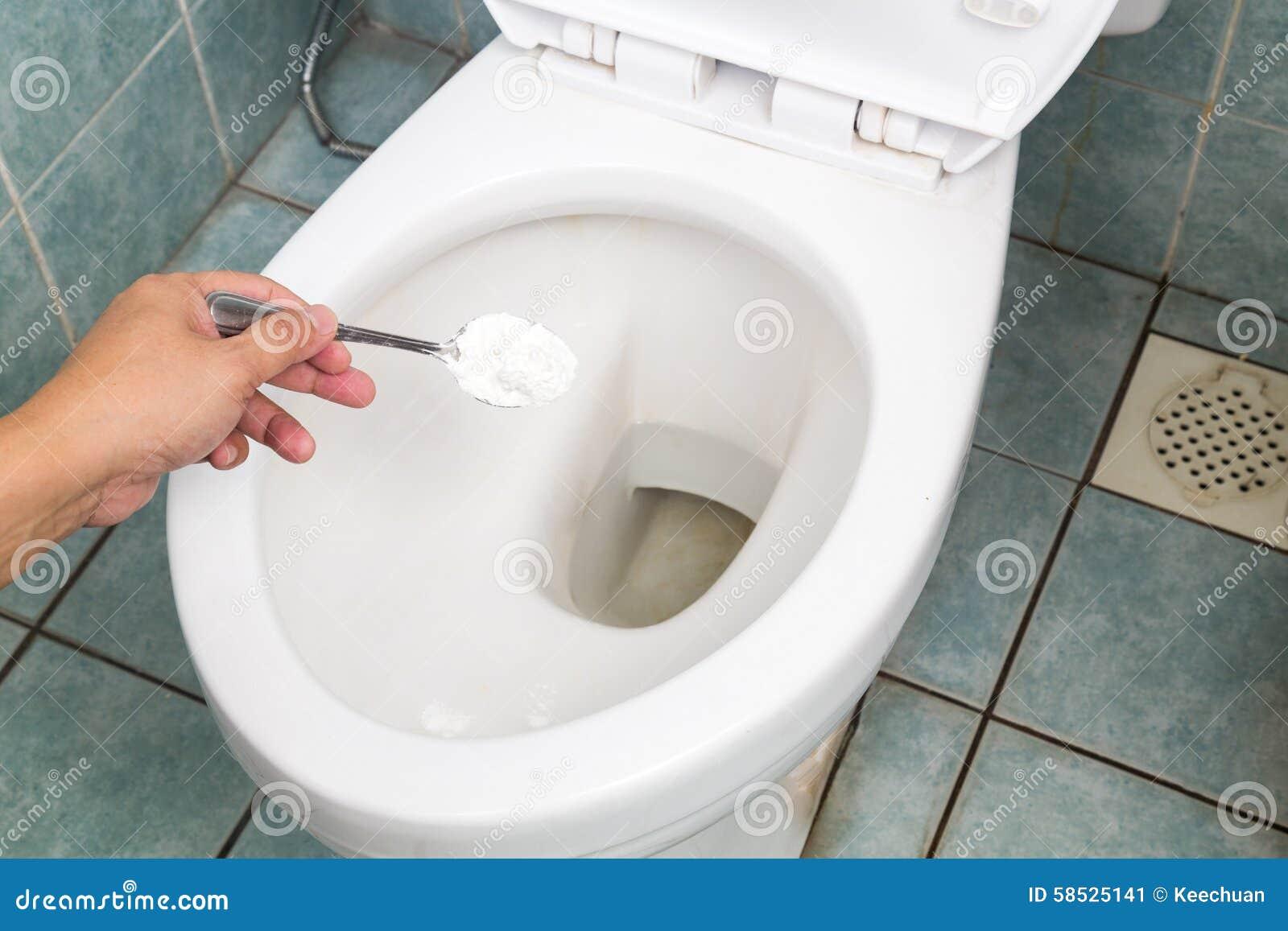 Bicarbonato De Sosa Usado Para Limpiar Y Para Desinfectar El  ~ Como Limpiar El Fondo Del Inodoro