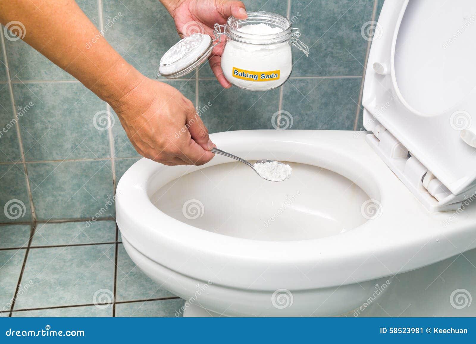 Bicarbonato Di Sodio Usato Per Pulire E Disinfettare La Ciotola Di