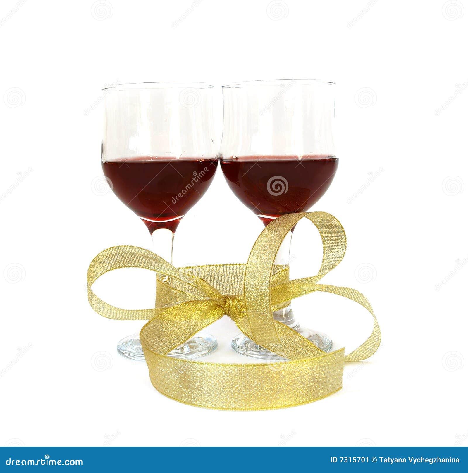 Bicchiere di vino della vite
