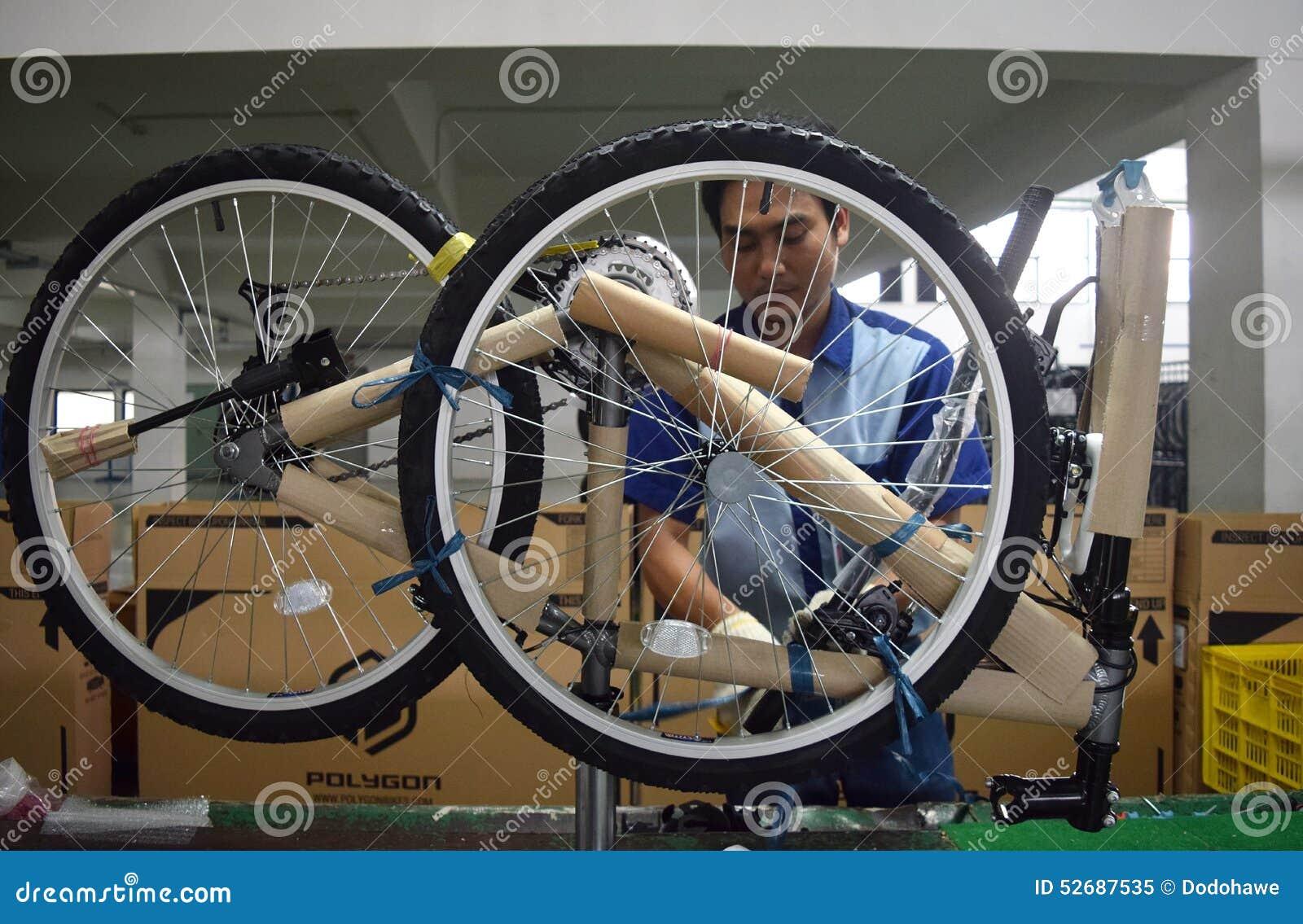 Bici de la bicicleta de la asamblea de Indonesia