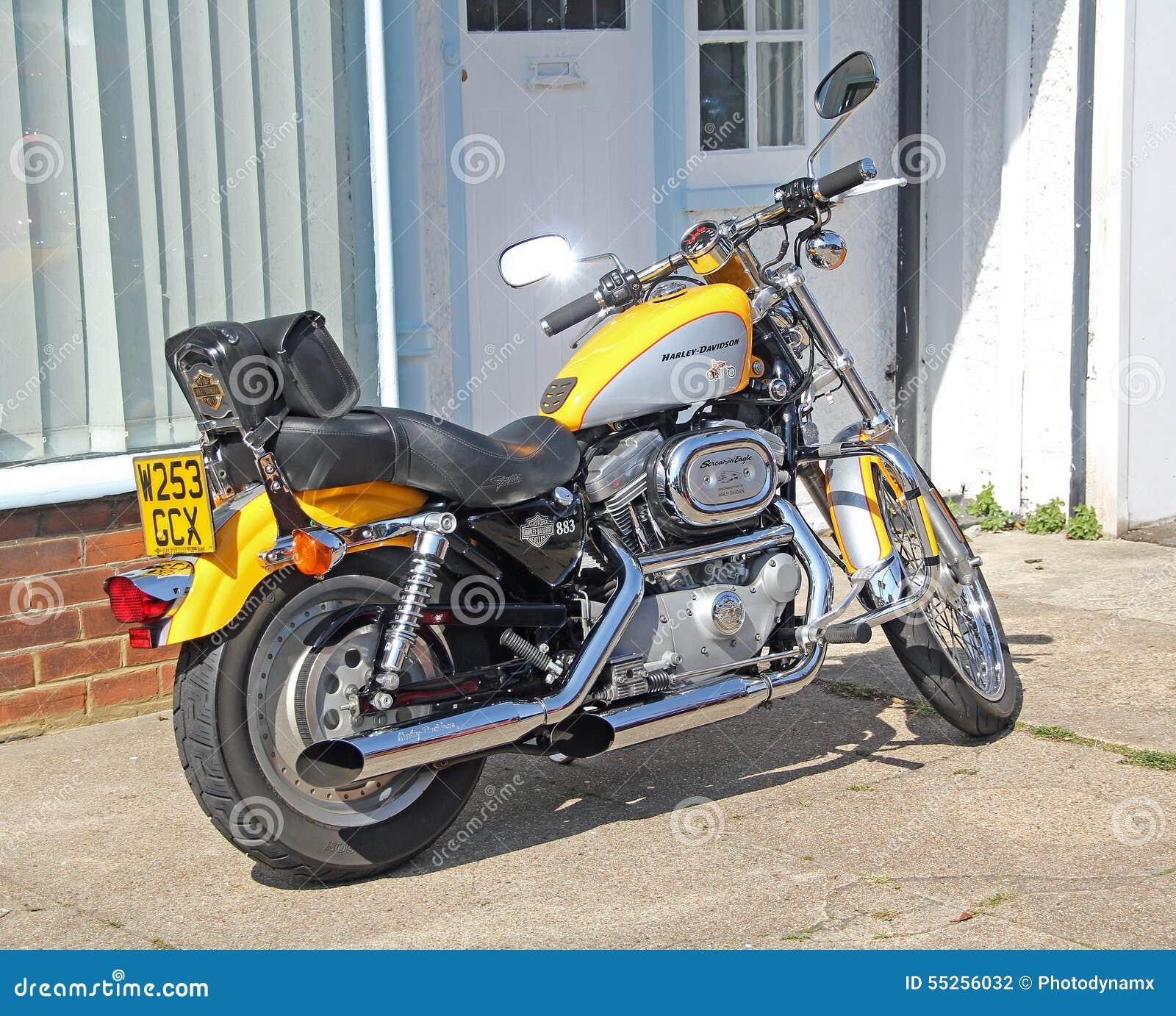 Bici Del Motociclo Di Harley Davidson Fotografia Editoriale