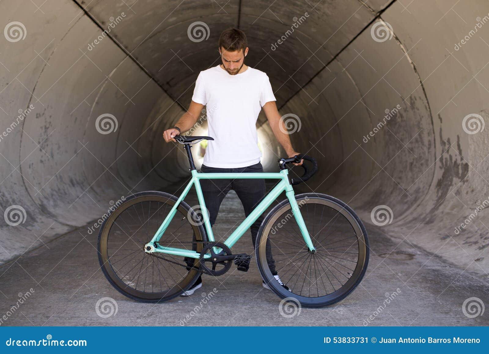 Bici fissa dell ingranaggio