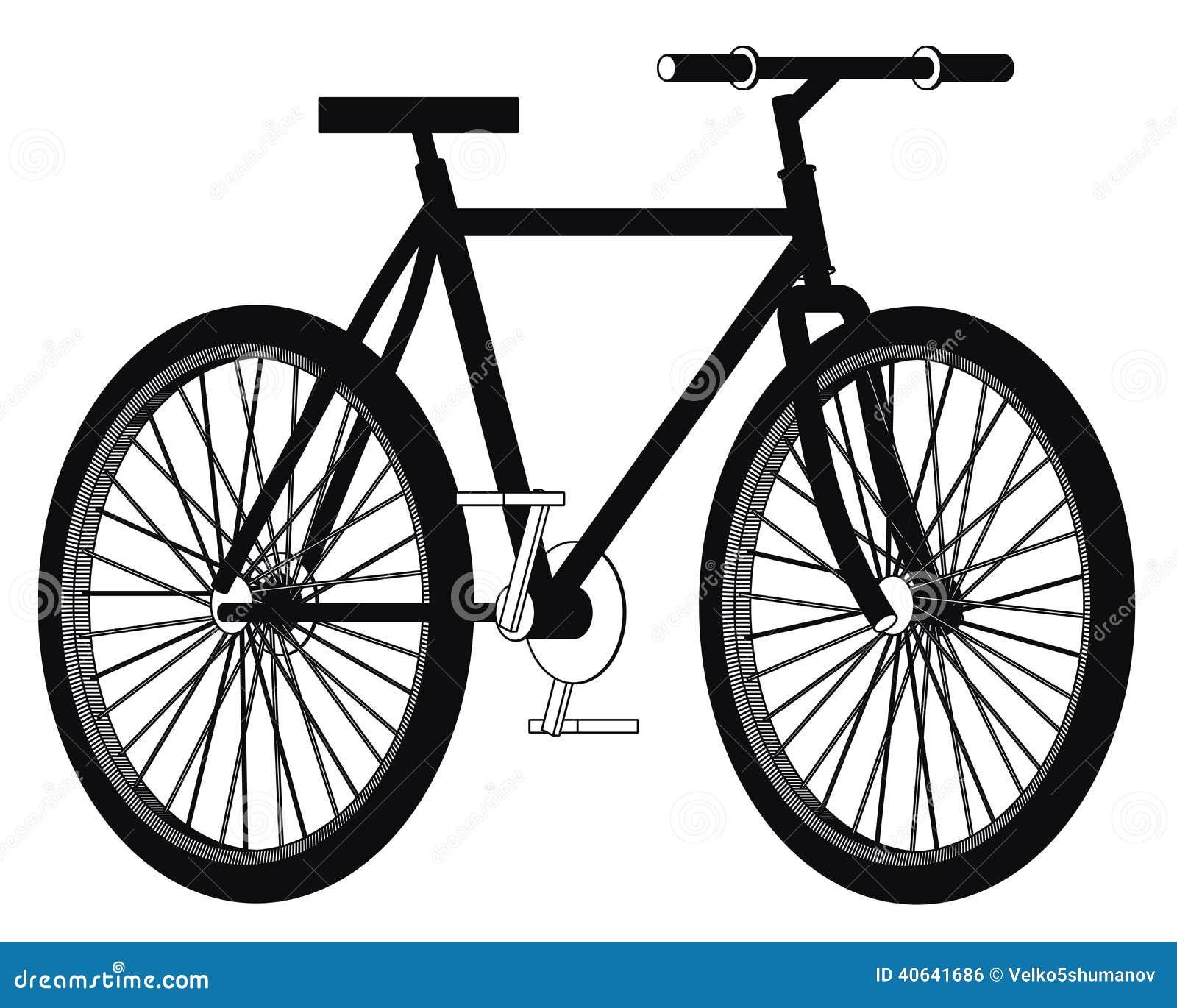 Bicicleta Ilustração Stock. Ilustração De Desenho