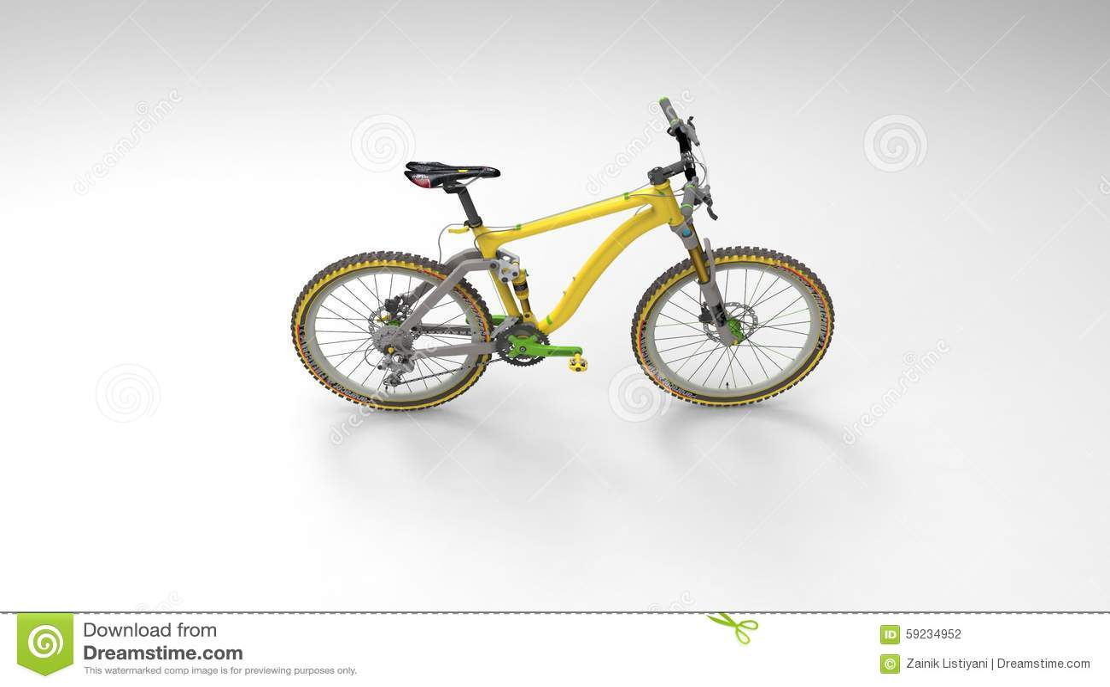 Download Bicicleta stock de ilustración. Ilustración de gráfico - 59234952