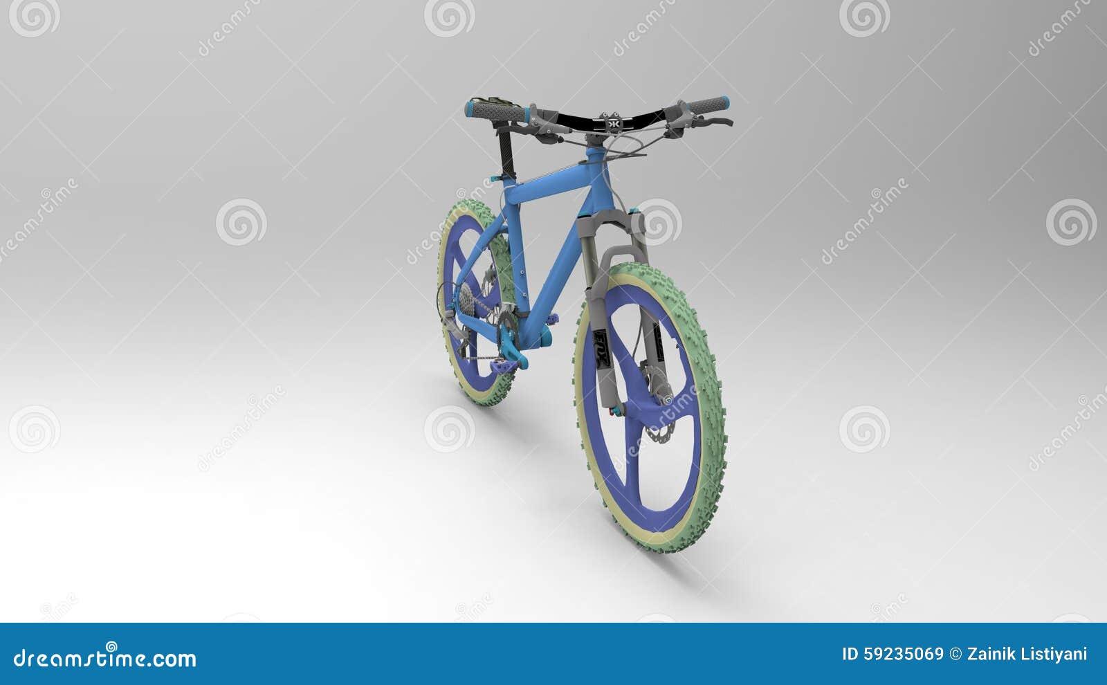 Download Bicicleta imagen de archivo editorial. Ilustración de viejo - 59235069